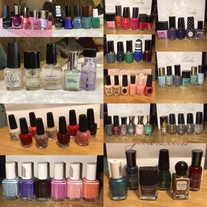 ALL 75 of my polishes!